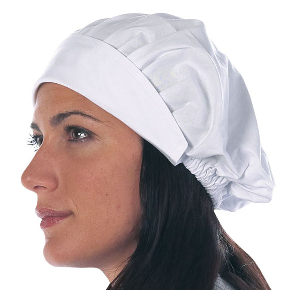 info for a87dc 09a3c COD. 4707 – Cuffia donna bianca in cotone, taglia unica.